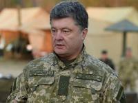 Петр Порошенко: С 1 апреля увеличатся доплаты военным, служащим в зоне АТО