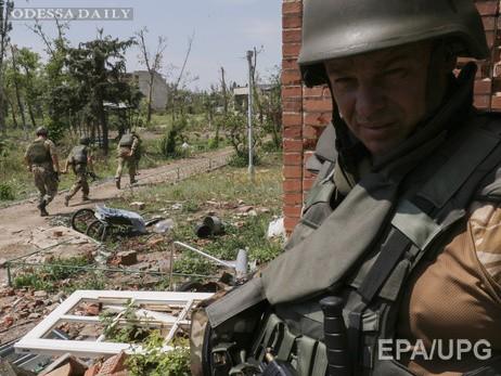 Пресс-центр АТО: Наиболее напряженная ситуация в окрестностях Донецка