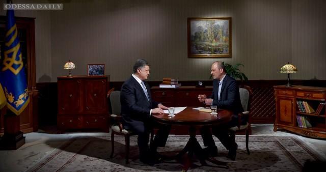 Интервью Петра Порошенко УТ-1: полная версия