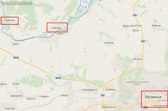 Нацгвардия разбила позицию террористов на Луганщине. Боевики вопят, что это была последняя капля