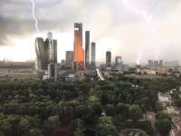 На Москву обрушился страшный ураган, есть жертвы