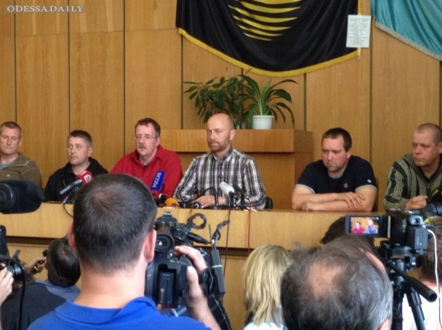 Россия называет провокацией отправку миссии ОБСЕ в Славянск