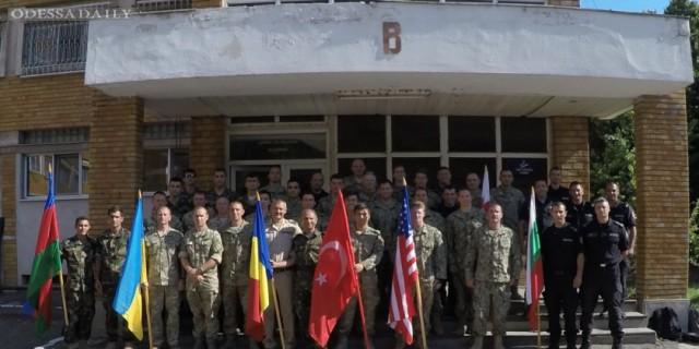 Одесские водолазы учились по стандартам НАТО