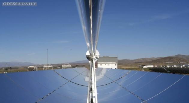 В Саудовской Аравии планируют подключить к сети первую станцию концентрированной солнечной энергии