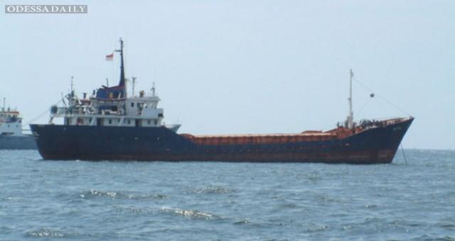 Судно из Одесской области терпит бедствие в Эгейском море
