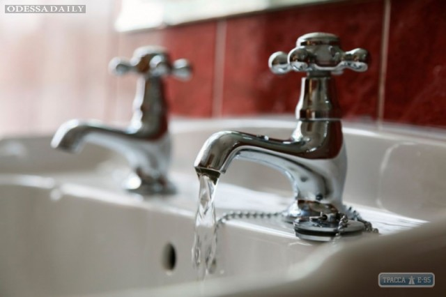 Жители центра Одессы останутся без водоснабжения на сутки