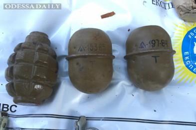 На территории одесского парка обнаружили схрон с боеприпасами