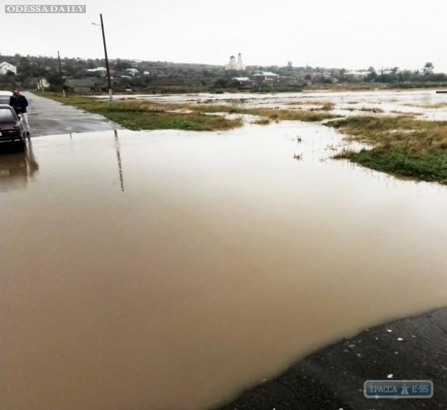 Село на юге Одесщины страдает от подтоплений из-за заиливания небольшой речки