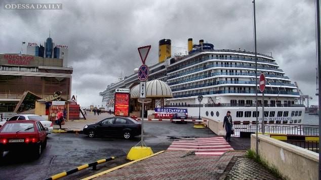 В одесский порт прибыл красавец- лайнер