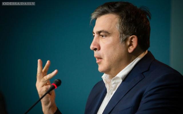 Саакашвили призывает Яценюка к ответу за ситуацию вокруг ОПЗ