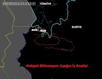 Турецкие военные показали траекторию полета сбитого Су-24