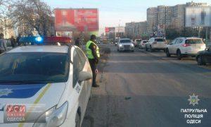 Одесские патрульные месяц будут контролировать движение транспорта на дорогах