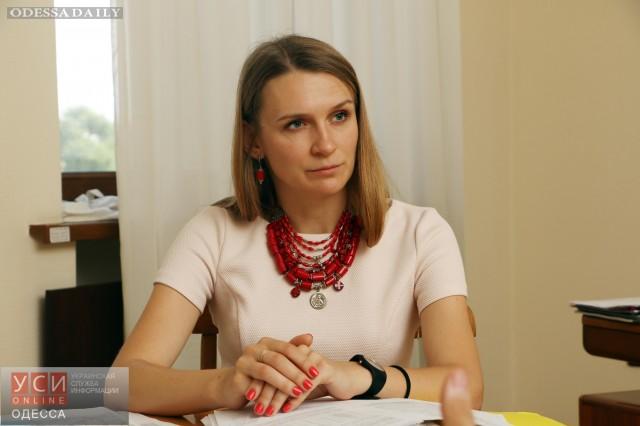 Соломия Бобровская покинет ОГА вслед за Саакашвили