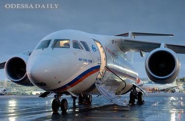 Участвовавший в обмене бойцов ГРУ самолет приземлился в Украине