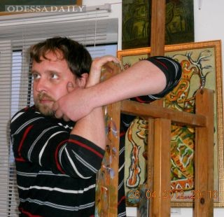 Андрей Коваленко и мир сквозь запах масляных красок