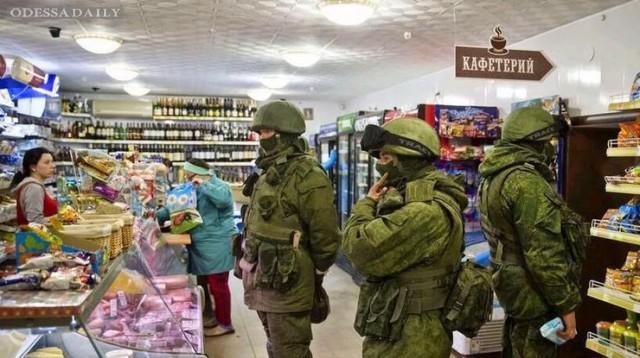 В Крыму захоронили первую партию европейских продуктов, ввезенных из Украины