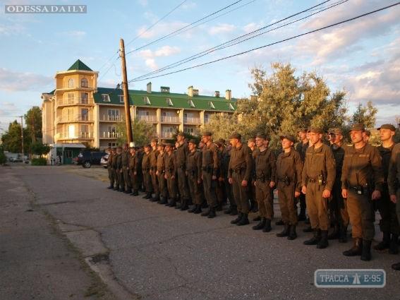 Бойцы Нацгвардии приступили к охране порядка в курортной зоне Одесской области – Затоке и Сергеевке