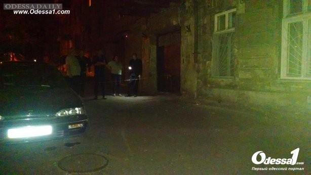 В Одессе ночью произошел взрыв гранаты