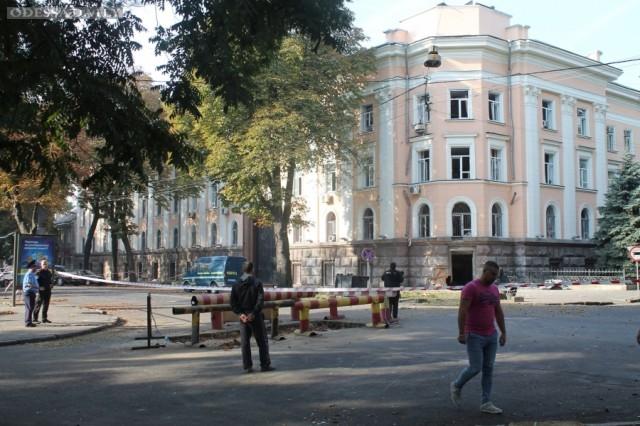 Группа из Центрального аппарата СБУ прибыла в Одессу расследовать взрыв