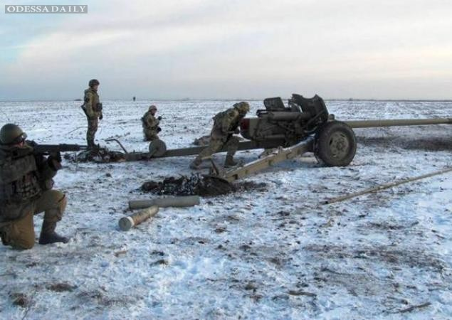 Ситуация в зоне проведения АТО. Сводка СНБО Украины от 19.12.2014