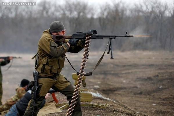 Силы АТО дали стремительный отпор ДРГ боевиков возле Зайцево