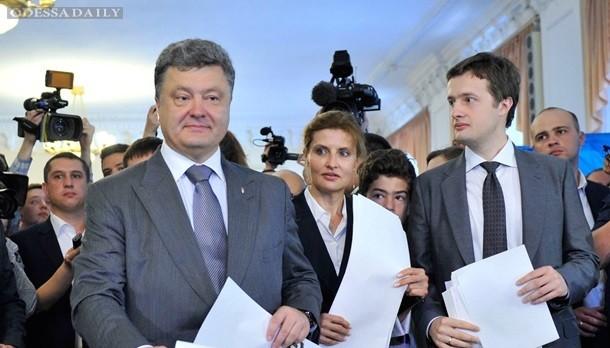 Сын Порошенко, оканчивающий Лондонскую школу экономики, воюет на Донбассе