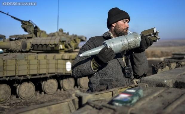Террористы понесли потери под Широкино - Минобороны