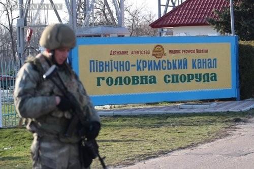 Северо-Крымский канал остановил подачу воды в Крым