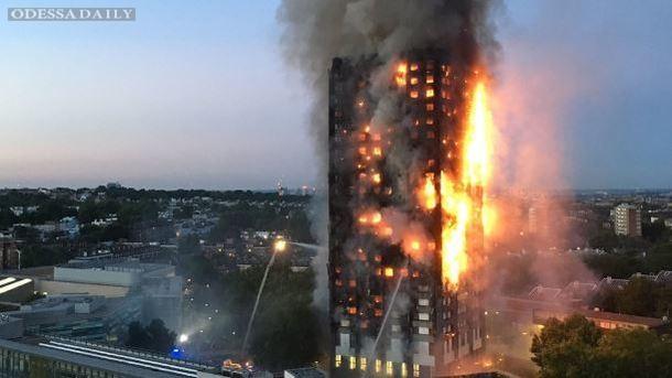 Количество жертв пожара в западном Лондоне резко возросло – СМИ