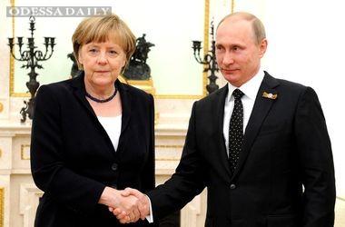 Меркель летит к Путину в Москву
