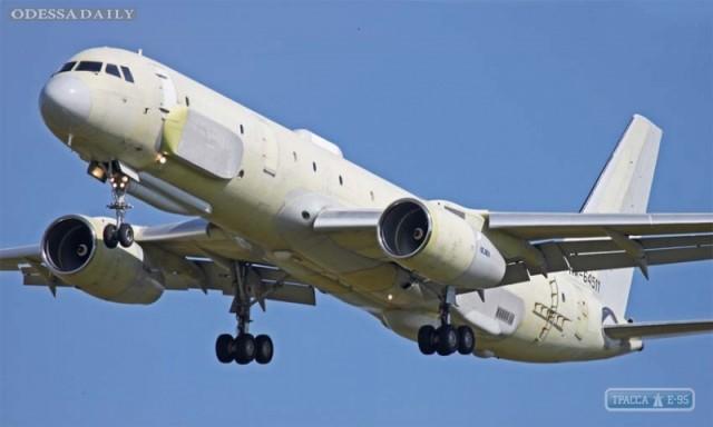 Российский военный самолет проводил разведку возле Одесской области