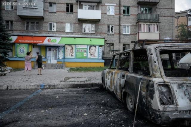 В Донецке идут масштабные бои