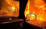 В Одессе горели автомобили BMW