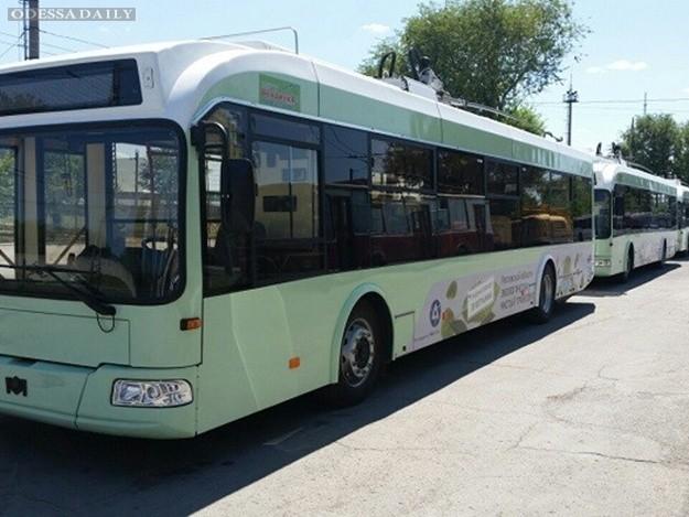 Обновка: Одесса приобретет в кредит 47 белорусских троллейбусов