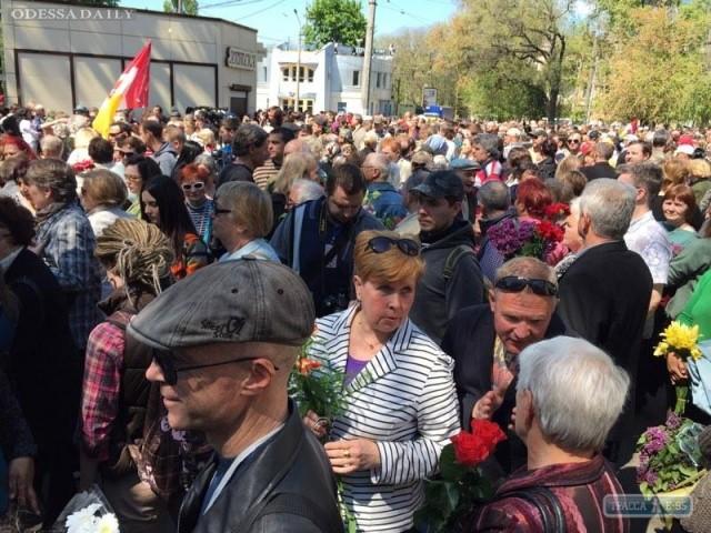 Правоохранители по-прежнему не пускают людей на Куликово поле в Одессе