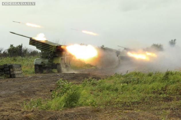 Сводка ИС: из Донецка боевики срочно выводят артиллерию