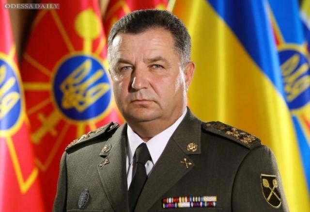 На сегодняшний день боевики в Донбассе не готовятся к наступлению, - Полторак