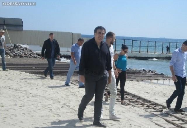 Саакашвили открыл доступ к пляжу экс-министра Злочевского - СМИ