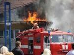 Из горящей квартиры спасли хозяйку