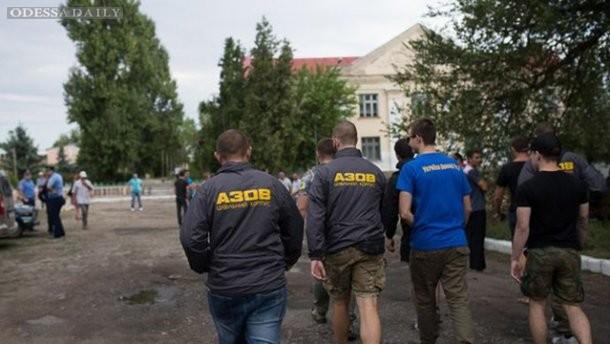 Село в Одесской области опасается мести цыган, приехал Азов