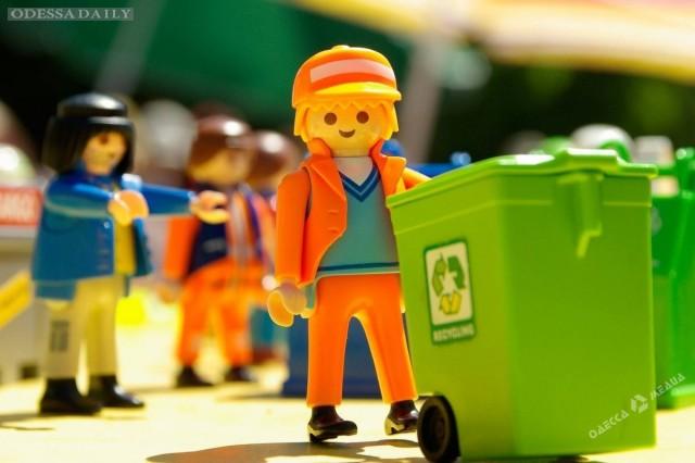 В Одессе стартует проект, призванный научить горожан сортировать мусор