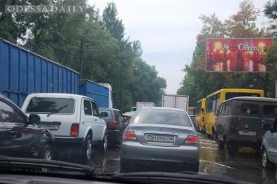 В Одессе снова начнутся грандиозные пробки на Пересыпи?