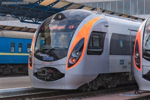 Скоростной поезд Интерсити снова будет курсировать между Киевом и Одессой