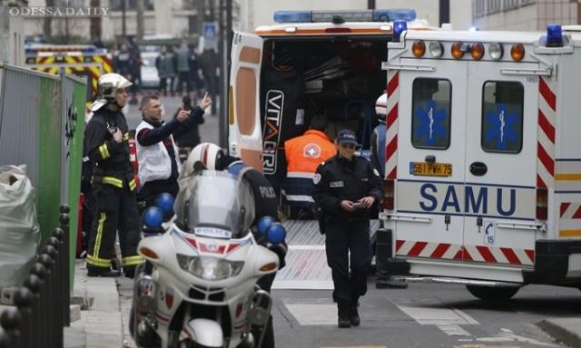 Теракт в Charlie Hebdo: один из предполагаемых террористов сдался