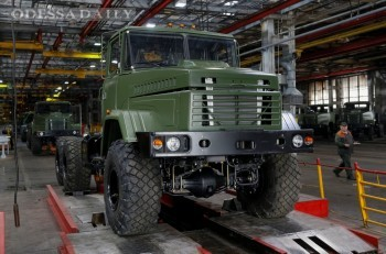 Производство грузовиков в Украине сократилось в три раза