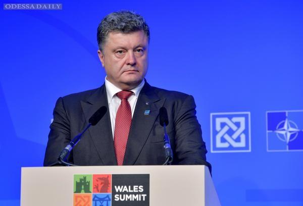 Порошенко приказал сегодня прекратить огонь на Донбассе