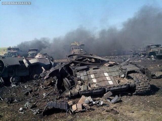 Реальная картина событий на линии фронта в Украине (видео)