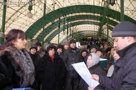 Предпринимателей «Острова» отселят на 10 рынков Одессы