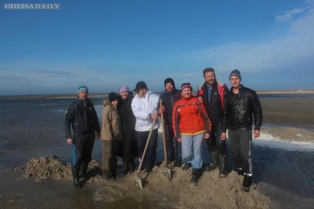 Морской прорыв в НПП «Тузловские лиманы»
