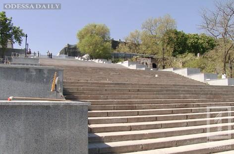 Потёмкинская лестница почти готова к открытию 26 мая